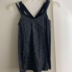 dark gray lululemon tank top